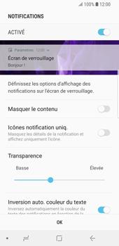 Samsung Galaxy S9 - Sécuriser votre mobile - Activer le code de verrouillage - Étape 11