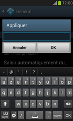 Samsung I8190 Galaxy S III Mini - Internet - Configuration manuelle - Étape 22