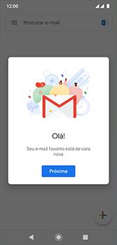 Motorola Moto G7 - Email - Como configurar seu celular para receber e enviar e-mails - Etapa 13