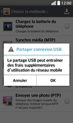 LG F70 - Internet et connexion - Utiliser le mode modem par USB - Étape 9