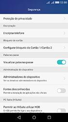 Huawei Y6 - Segurança - Como ativar o código PIN do cartão de telemóvel -  4