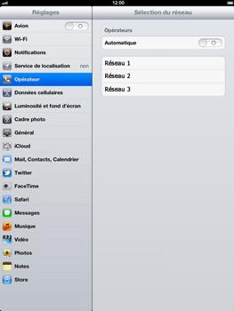 Apple iPad 4th generation - Réseau - utilisation à l'étranger - Étape 9