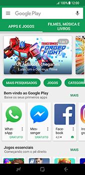 Samsung Galaxy S8 - Aplicativos - Como baixar aplicativos - Etapa 7
