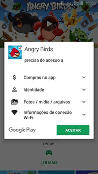 Samsung Galaxy J7 - Aplicativos - Como baixar aplicativos - Etapa 18