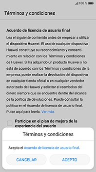 Huawei P10 Plus - Primeros pasos - Activar el equipo - Paso 7