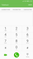 Samsung Samsung G925 Galaxy S6 Edge (Android M) - Voicemail - Handmatig instellen - Stap 4