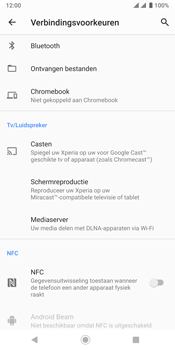 Sony xperia-xz3-dual-sim-model-h9438 - NFC - NFC activeren - Stap 6