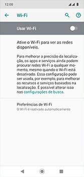 Motorola Moto G7 - Wi-Fi - Como configurar uma rede wi fi - Etapa 6