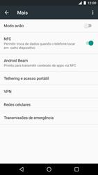 LG Google Nexus 5X - Wi-Fi - Como usar seu aparelho como um roteador de rede wi-fi - Etapa 4