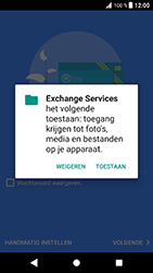 Sony Xperia XZ - Android Oreo - E-mail - e-mail instellen (outlook) - Stap 12