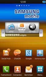 Samsung S8600 Wave 3 - Internet - automatisch instellen - Stap 4