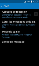 Samsung G318H Galaxy Trend 2 Lite - SMS - Configuration manuelle - Étape 7