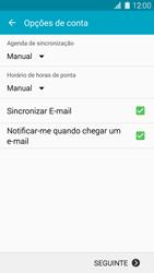 Samsung Galaxy S5 - Email - Configurar a conta de Email -  16
