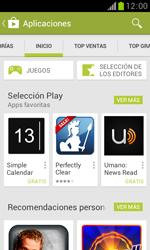 Samsung S7560 Galaxy Trend - Aplicaciones - Descargar aplicaciones - Paso 6