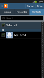 Samsung Galaxy Core LTE - Email - Sending an email message - Step 7