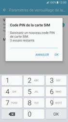 Samsung Galaxy S7 - Sécuriser votre mobile - Personnaliser le code PIN de votre carte SIM - Étape 9