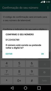 LG G4 - Aplicações - Como configurar o WhatsApp -  7