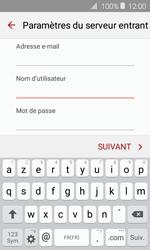 Samsung J120 Galaxy J1 (2016) - E-mail - Configuration manuelle - Étape 9