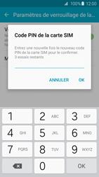 Samsung Galaxy S6 Edge - Sécuriser votre mobile - Personnaliser le code PIN de votre carte SIM - Étape 10