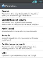 LG Optimus F5 - Premiers pas - Configurer l