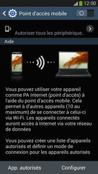 Samsung Galaxy Note 3 - Internet et connexion - Partager votre connexion en Wi-Fi - Étape 6