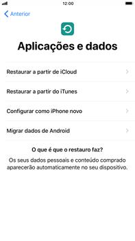 Apple iPhone 7 Plus iOS 11 - Primeiros passos - Como ligar o telemóvel pela primeira vez -  15