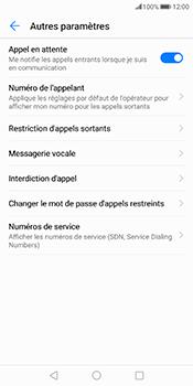 Huawei Mate 10 Pro - Messagerie vocale - configuration manuelle - Étape 7
