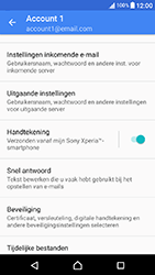 Sony Xperia X Compact (F5321) - E-mail - Instellingen KPNMail controleren - Stap 10
