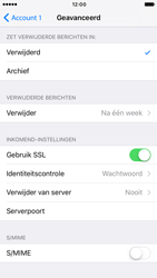 Apple iPhone 6 iOS 10 - E-mail - Account instellen (POP3 zonder SMTP-verificatie) - Stap 23