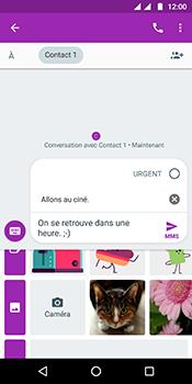 Motorola Moto G6 - Contact, Appels, SMS/MMS - Envoyer un MMS - Étape 13