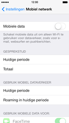 Apple iPhone 5s - Internet - Mobiele data uitschakelen - Stap 5