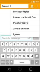 LG K4 - Contact, Appels, SMS/MMS - Envoyer un MMS - Étape 10