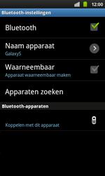 Samsung I9001 Galaxy S Plus - Bluetooth - Headset, carkit verbinding - Stap 7