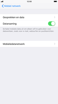 Apple iPhone 6s Plus iOS 11 - Buitenland - Internet in het buitenland - Stap 7