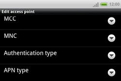 HTC A810e ChaCha - MMS - Manual configuration - Step 11