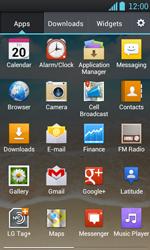 LG P700 Optimus L7 - E-mail - Manual configuration - Step 3