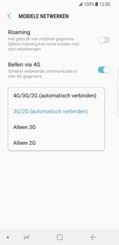 Samsung Galaxy S8 - Android Oreo - 4G instellen  - Toestel instellen voor 4G - Stap 7