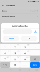 Huawei P9 Lite - Android Nougat - Voicemail - Manual configuration - Step 8