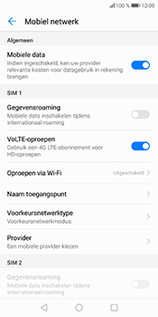 Huawei P Smart (Model FIG-LX1) - Internet - Uitzetten - Stap 7