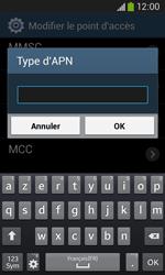 Samsung S7275 Galaxy Ace III - Internet - Configuration manuelle - Étape 14