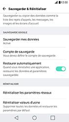 LG X Cam - Device maintenance - Retour aux réglages usine - Étape 6