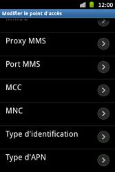 Samsung S6500D Galaxy Mini 2 - Internet - configuration manuelle - Étape 14