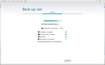 Nokia 216 - Software - Back-up maken of terugplaatsen - Stap 5