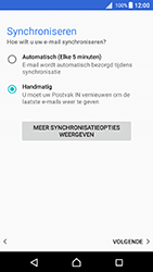 Sony Xperia X (F5121) - Android Nougat - E-mail - Account instellen (POP3 zonder SMTP-verificatie) - Stap 20