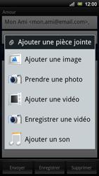 Sony Ericsson Xperia Ray - E-mail - envoyer un e-mail - Étape 8