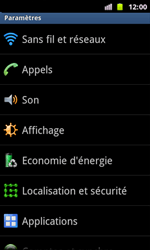 Samsung I8160 Galaxy Ace II - Internet - configuration manuelle - Étape 5