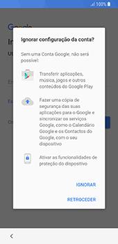 Samsung Galaxy S8 - Android Oreo - Primeiros passos - Como ligar o telemóvel pela primeira vez -  10