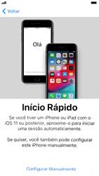 Apple iPhone 7 - iOS 12 - Primeiros passos - Como ativar seu aparelho - Etapa 7