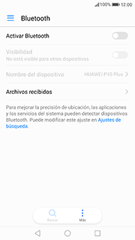 Huawei P10 Plus - Bluetooth - Conectar dispositivos a través de Bluetooth - Paso 4