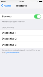 Apple iPhone SE - Bluetooth - Conectar dispositivos a través de Bluetooth - Paso 5